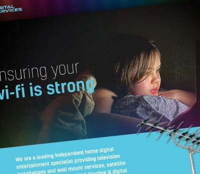 TVS Digital Services Website